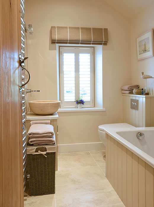 Beautifully designed & finished bathroom
