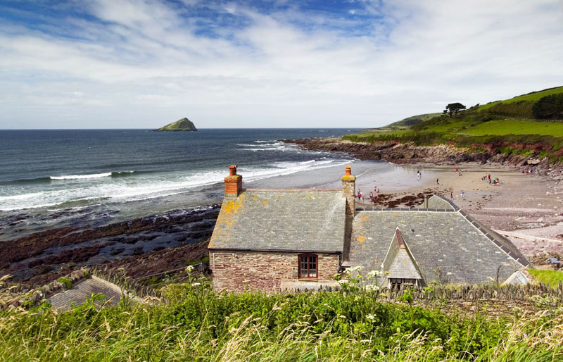 National Trust Wembury Beach
